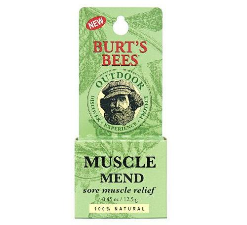 亚马逊海淘:小蜜蜂 Burt's Bees 天然肌肉舒缓膏 家庭必备