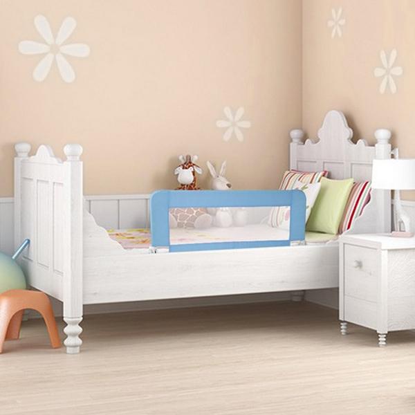 bettschutzgitter kinderbettgitter kinderbett bettgitter schutz babybett 102 150 ebay. Black Bedroom Furniture Sets. Home Design Ideas