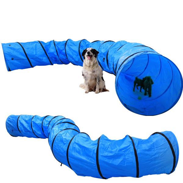 500x60 cm hundetunnel hunde spiel tunnel spieltunnel hundeh hle agilitytunnel ebay. Black Bedroom Furniture Sets. Home Design Ideas