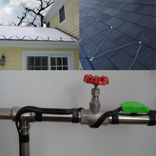 4 19m frostschutzkabel heizkabel heizleitung. Black Bedroom Furniture Sets. Home Design Ideas