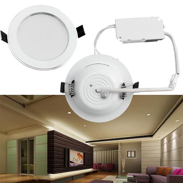 3w 7w 9w 12w smd led einbauleuchte decken leuchte set einbau strahler spot 230v ebay. Black Bedroom Furniture Sets. Home Design Ideas