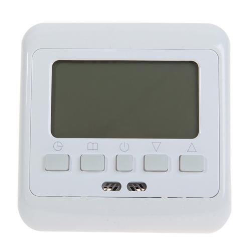 5x digital thermostat digitaler raumthermostat bodenf hler fu bodenheizung 16a ebay. Black Bedroom Furniture Sets. Home Design Ideas