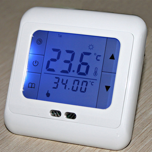 7x raumthermostat lcd touchscreen programmierbar heizung thermostat digital. Black Bedroom Furniture Sets. Home Design Ideas