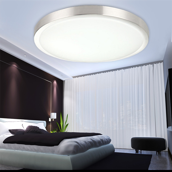 12w 96w led deckenleuchte badlampe panel beleuchtung k che deckenlampe dimmbar ebay. Black Bedroom Furniture Sets. Home Design Ideas