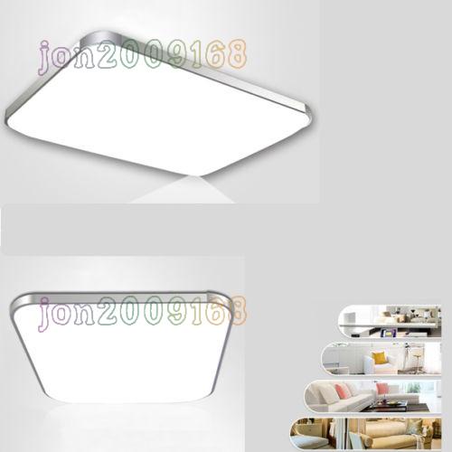 36 48w led deckenleuchte deckenlampe energiespar wohnzimmer k che bad dimmbar ebay. Black Bedroom Furniture Sets. Home Design Ideas