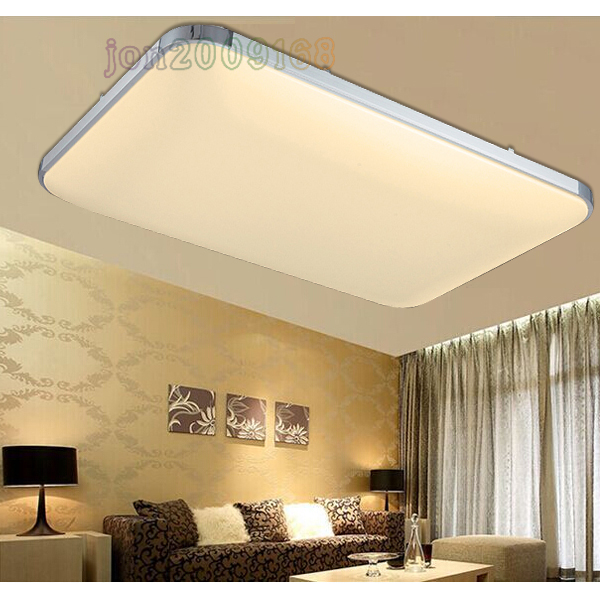 48w led deckenlampe deckenleuchte panel lampe badezimmer leuchte flur warmwei ebay. Black Bedroom Furniture Sets. Home Design Ideas