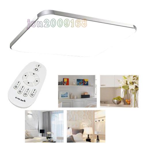 48w led deckenleuchte deckenlampe mit fernbedienung. Black Bedroom Furniture Sets. Home Design Ideas