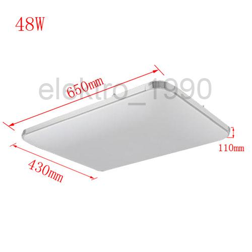 2x 48w led deckenleuchte deckenlampe badezimmer lampe. Black Bedroom Furniture Sets. Home Design Ideas