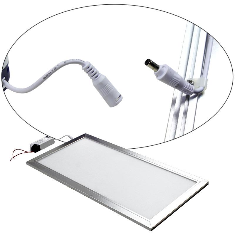 led panel deckenleuchte lampe einbau strahler leuchte pendelleuchte wandleuchte. Black Bedroom Furniture Sets. Home Design Ideas