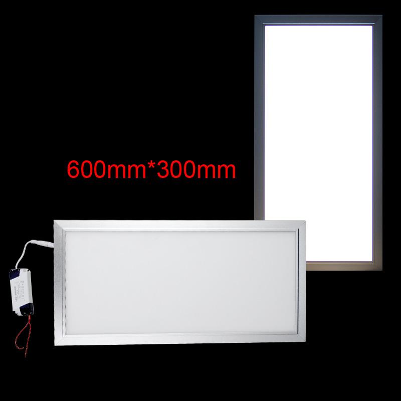 12 24w led panel lampe deckenleuchte b ro pendelleuchte wandleuchte ultraslim ebay. Black Bedroom Furniture Sets. Home Design Ideas