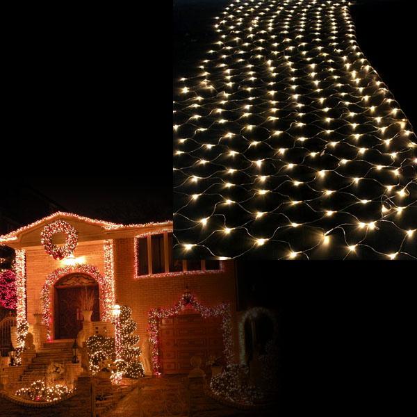 weihnachten led lichternetz lichtschlauch innen au en. Black Bedroom Furniture Sets. Home Design Ideas