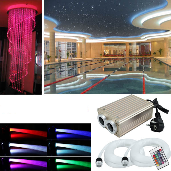 rgb led sternenhimmel 780 lichtfaser glasfaser set sauna bad wellness auto funk ebay. Black Bedroom Furniture Sets. Home Design Ideas
