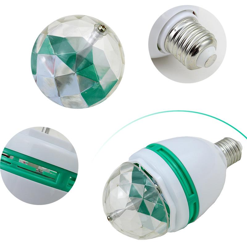 10x 3w e27 rgb led stage light bulb rotating lampe birne decor disco party bunte ebay. Black Bedroom Furniture Sets. Home Design Ideas