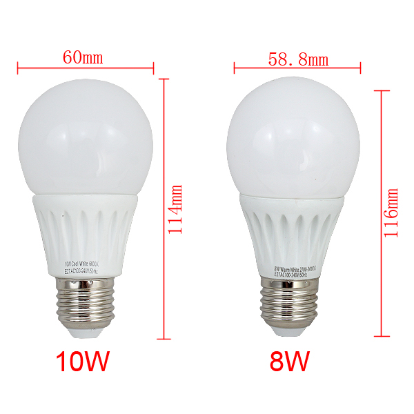 10x 2w 10w e27 e14 led bulb birne strahler spot lampe leuchtmittel gl hlampe ebay. Black Bedroom Furniture Sets. Home Design Ideas