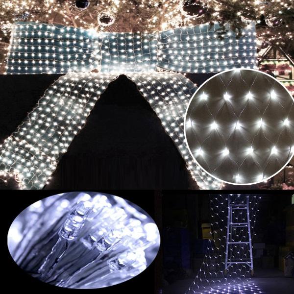 weihnachten led lichternetz 3 x 3m wei lichterkette innen. Black Bedroom Furniture Sets. Home Design Ideas