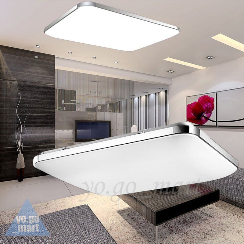 48w led deckenleuchte deckenlampe lampe wohnzimmer k chen energiespar warmwei ebay. Black Bedroom Furniture Sets. Home Design Ideas