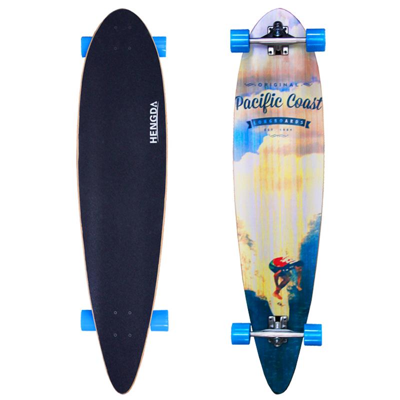 Led Beleuchtung Longboard : 44 Skateboard Longboard Long Board Top mount Komplett Streetsurfer