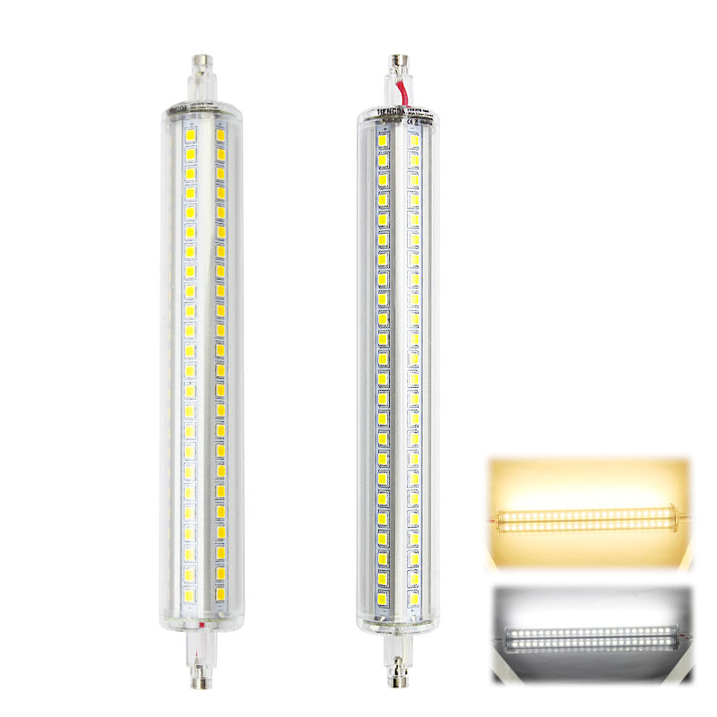 5w 10w 15w r7s led leuchte halogenstab stab fluter 78mm 118mm 189mm dimmbar ebay. Black Bedroom Furniture Sets. Home Design Ideas