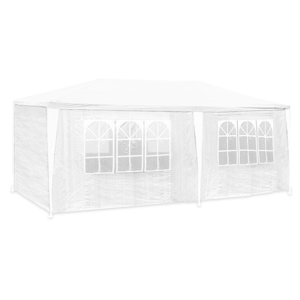 pe pavillon partyzelt hochzeit festzelt 3x6 3x9m. Black Bedroom Furniture Sets. Home Design Ideas