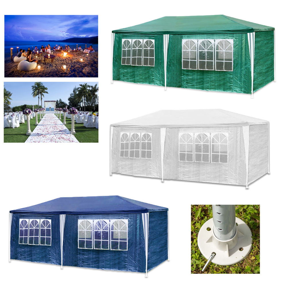 pe pavillon partyzelt hochzeit festzelt 3x6 3x9m. Black Bedroom Furniture Sets. Home Design Ideas