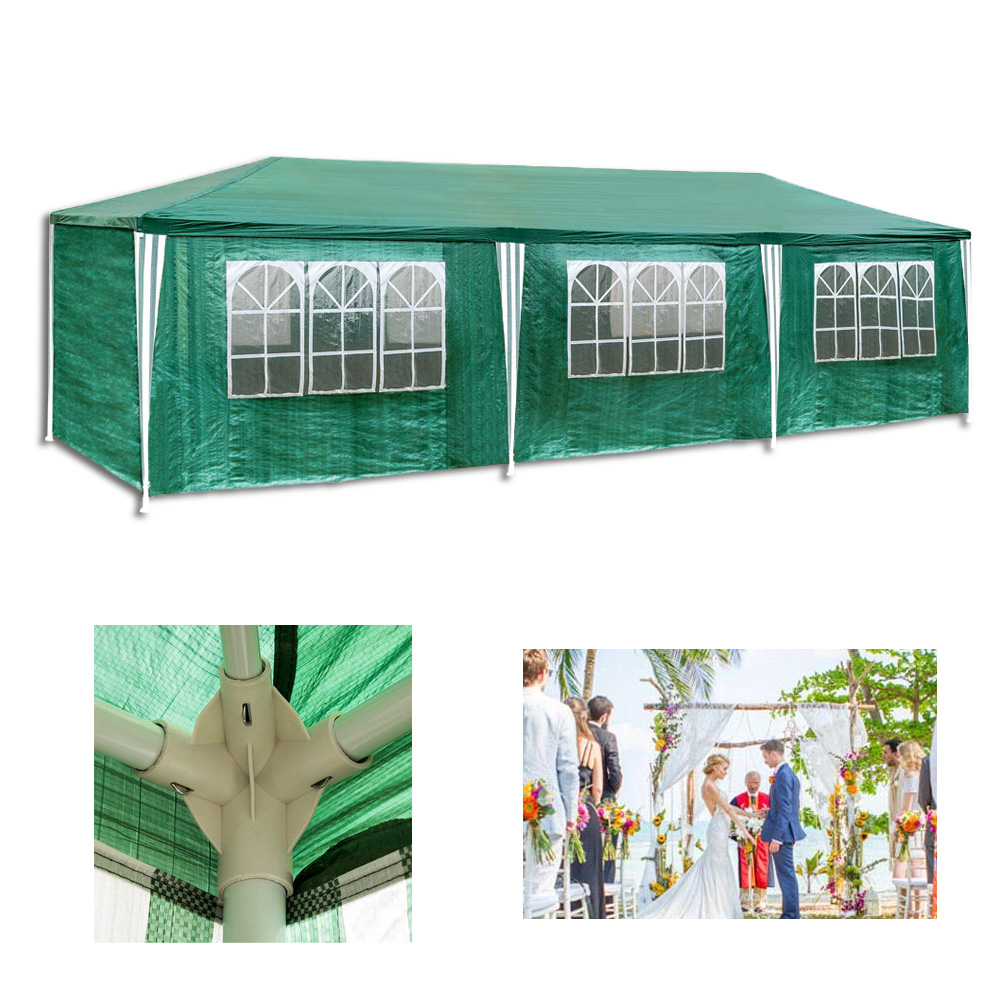 3x9m hochzeit festzelt partyzelt bierzelt pavillon strandzelt gartenzelt zelt ebay. Black Bedroom Furniture Sets. Home Design Ideas