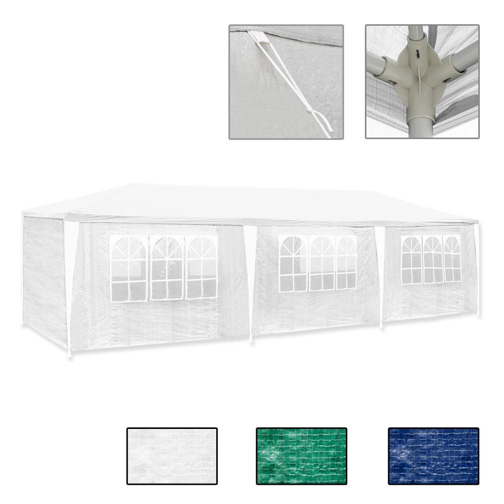 3x9m wasserdicht festzelt bierzelt pavillon strandzelt. Black Bedroom Furniture Sets. Home Design Ideas
