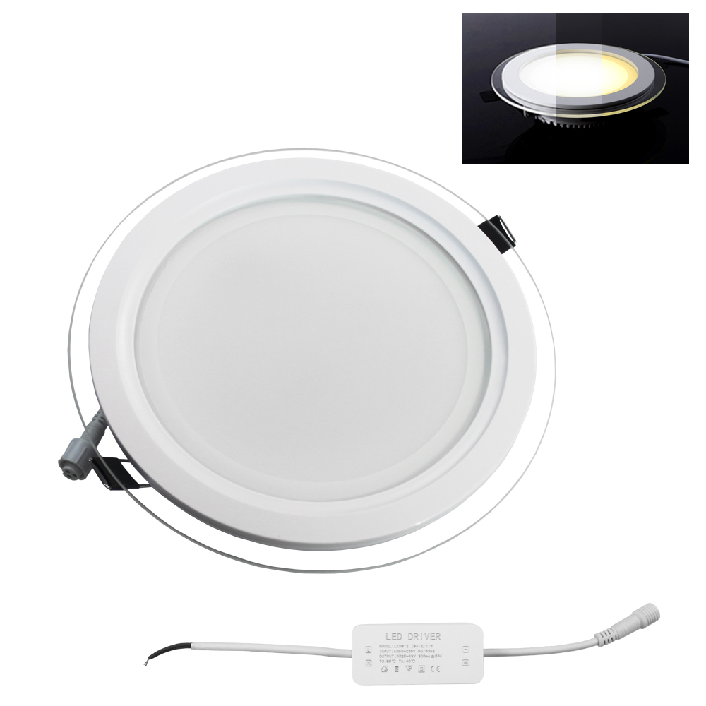 4x 18w led deckenleuchte panel lampe wandlampe slim einbaustrahler mit trafo ebay. Black Bedroom Furniture Sets. Home Design Ideas
