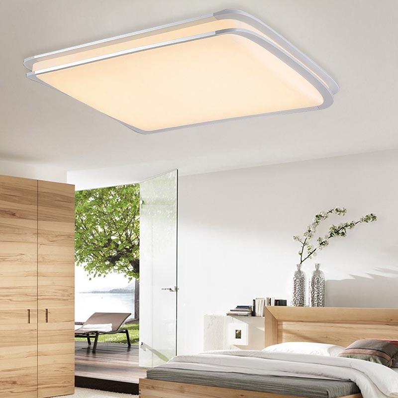 96w led deckenleuchte badleuchte deckenlampe panel leuchte wohnzimmer flur lampe ebay. Black Bedroom Furniture Sets. Home Design Ideas