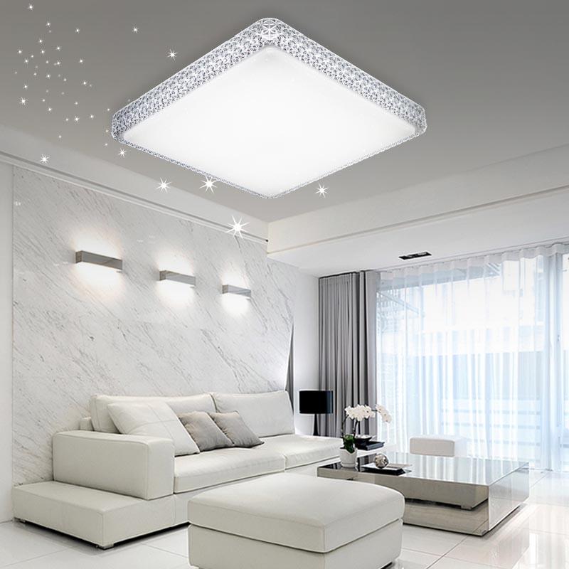 16 60w led deckenleuchte badleuchte wohnzimmer leuchte starlight lampe k che ebay. Black Bedroom Furniture Sets. Home Design Ideas