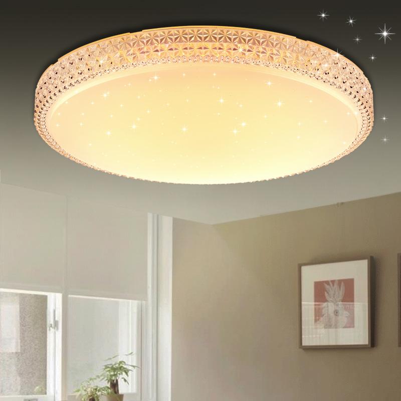 60w panel led kristall deckenlampe deckenleuchte starlight wandlampe badleuchte ebay. Black Bedroom Furniture Sets. Home Design Ideas
