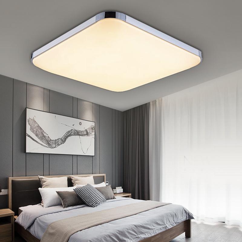 led deckenleuchte deckenlampe wohnzimmer schlafzimmer dimmbar 12w 48w leuchte ebay. Black Bedroom Furniture Sets. Home Design Ideas