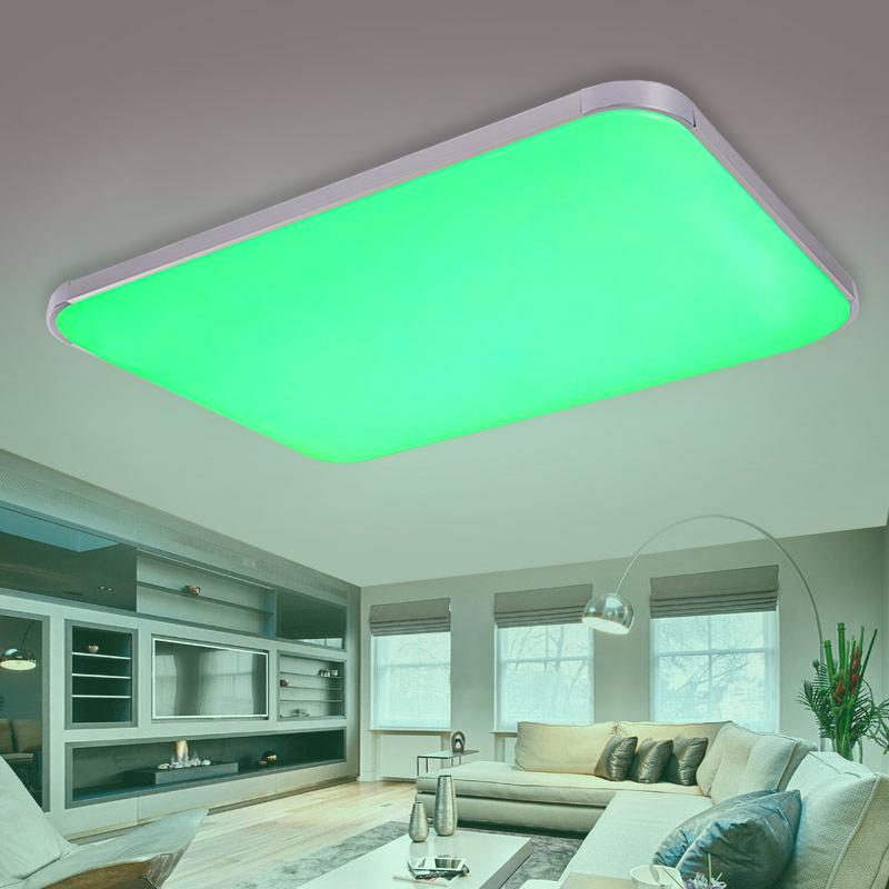 rgb farbwechsel led deckenlampe 25w 90w wandlampe. Black Bedroom Furniture Sets. Home Design Ideas
