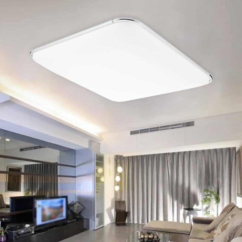 12w led deckenleuchte badleuchte k che deckenlampe leuchte wohnzimmer ip44 eckig ebay. Black Bedroom Furniture Sets. Home Design Ideas