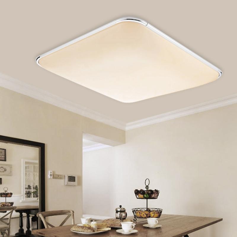 24w led deckenleuchte panel deckenlampe wandleuchte k che. Black Bedroom Furniture Sets. Home Design Ideas
