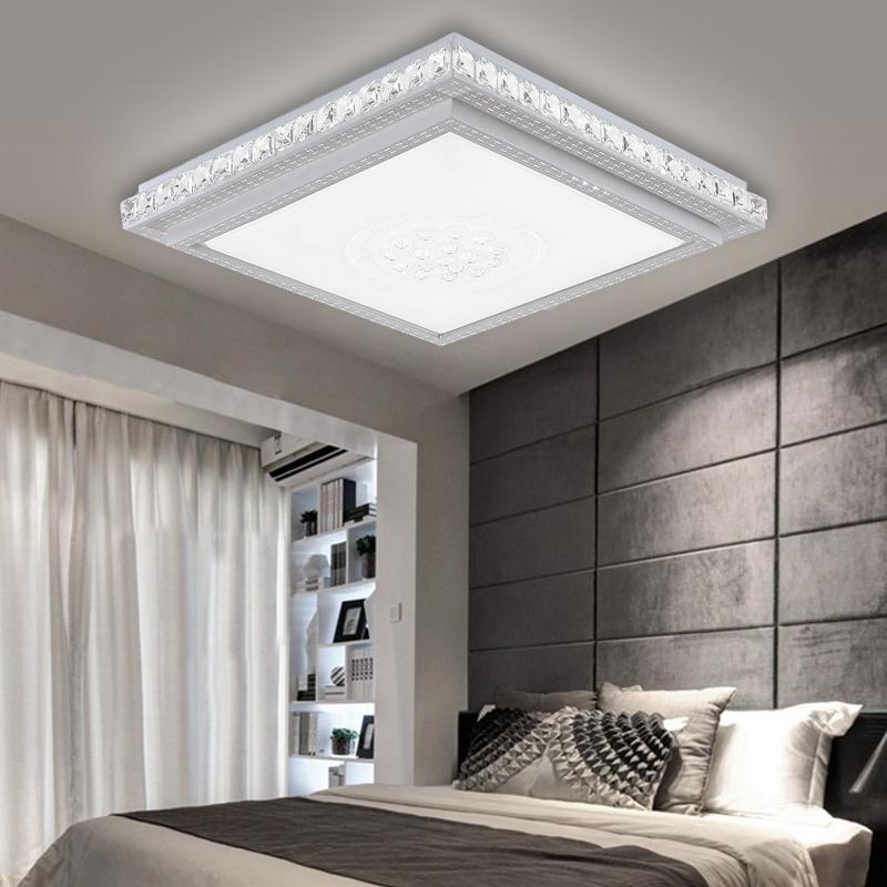 Led deckenlampe 36w deckenleuchte kristall wohnzimmer for Schlafzimmer wandlampe