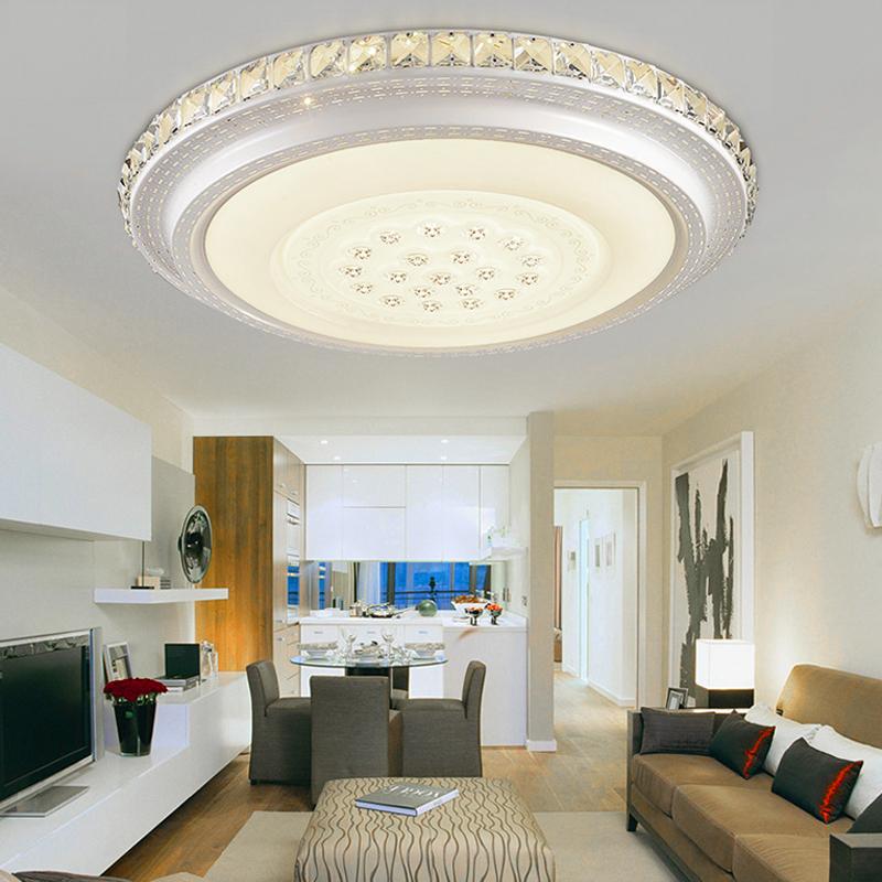 36w led kristall deckenleuchte wohnzimmer flurleuchte sternenhimmel warmwei ebay. Black Bedroom Furniture Sets. Home Design Ideas
