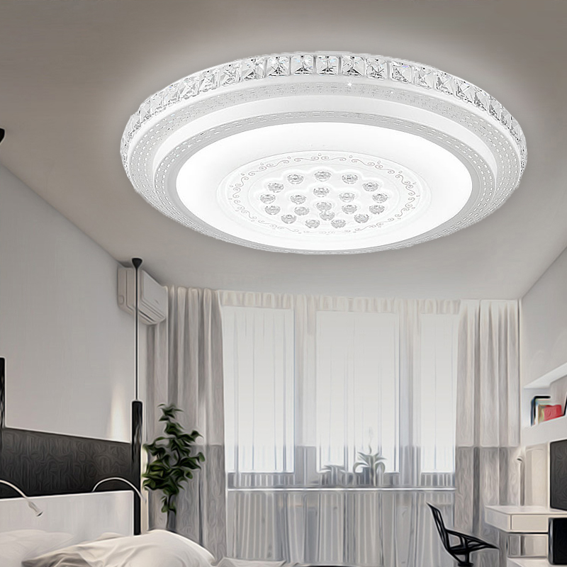 48w starlight design wandlampe led kristall deckenleuchte for Badlampe design