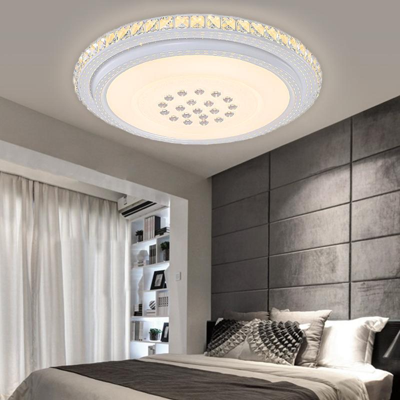 Kristall Deckenleuchte LED Deckenlampe Schlafzimmer