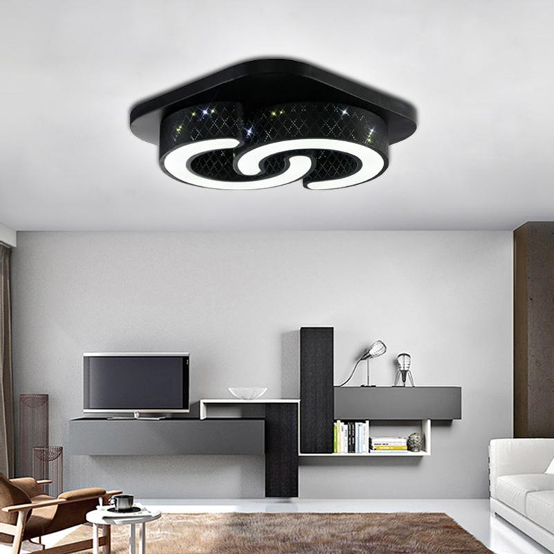 24w led deckenleuchte deckenbeleuchtung leuchte wohnzimmer lampe k chen modern ebay. Black Bedroom Furniture Sets. Home Design Ideas