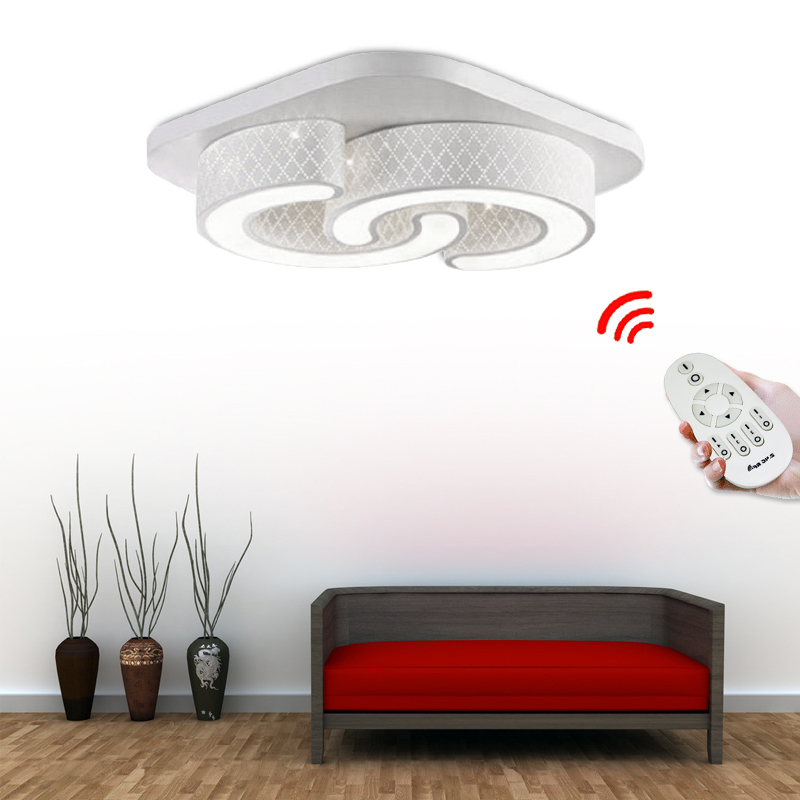24W LED Deckenleuchte Wandlampe Wohnzimmer Kche Deckenlampe Dimmbar Beleuchtung