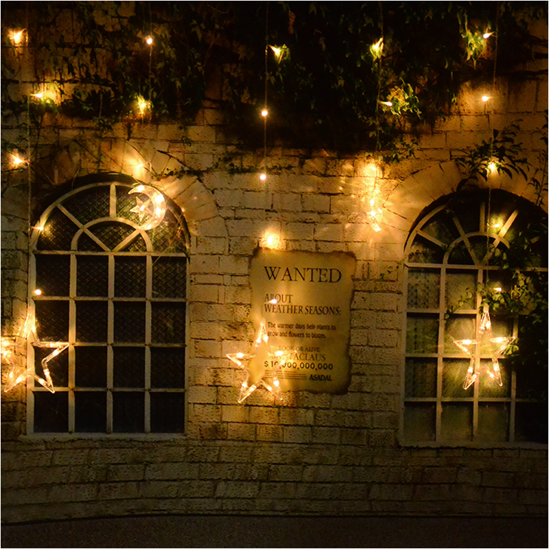 Star Moon String Lights : 138 LED Moon and Star Fairy Curtains Pendant String Light Christmas Wedding eBay