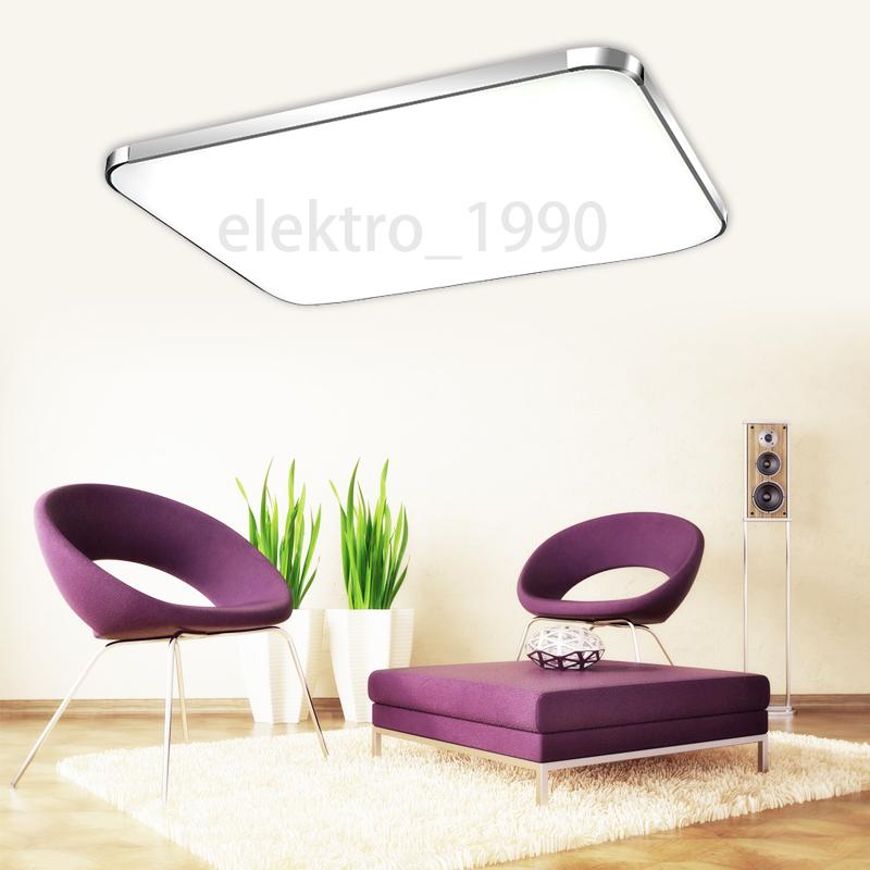 12w 96w led deckenleuchte badlampe panel beleuchtung k che. Black Bedroom Furniture Sets. Home Design Ideas