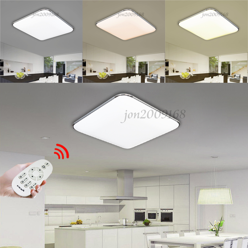 Dimmable Led Bathroom Wall Lights : 36W LED Ceiling Down Light Wall Kitchen Bathroom Lamp Energy Saving Dimmable UK eBay
