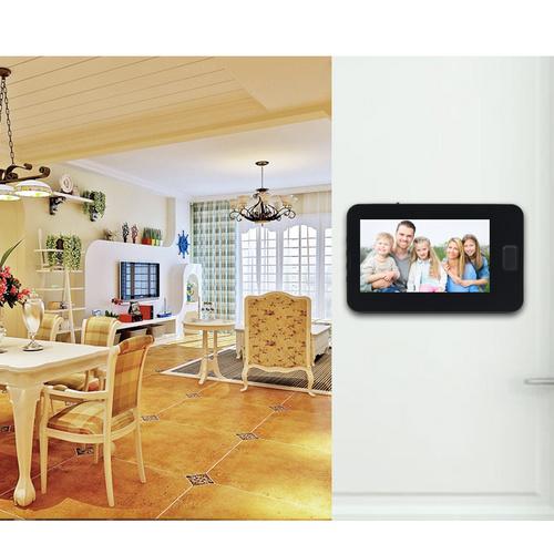 4 3 lcd digitaler t rspion berwachungskamera hd sicherheits video berwachung ebay. Black Bedroom Furniture Sets. Home Design Ideas