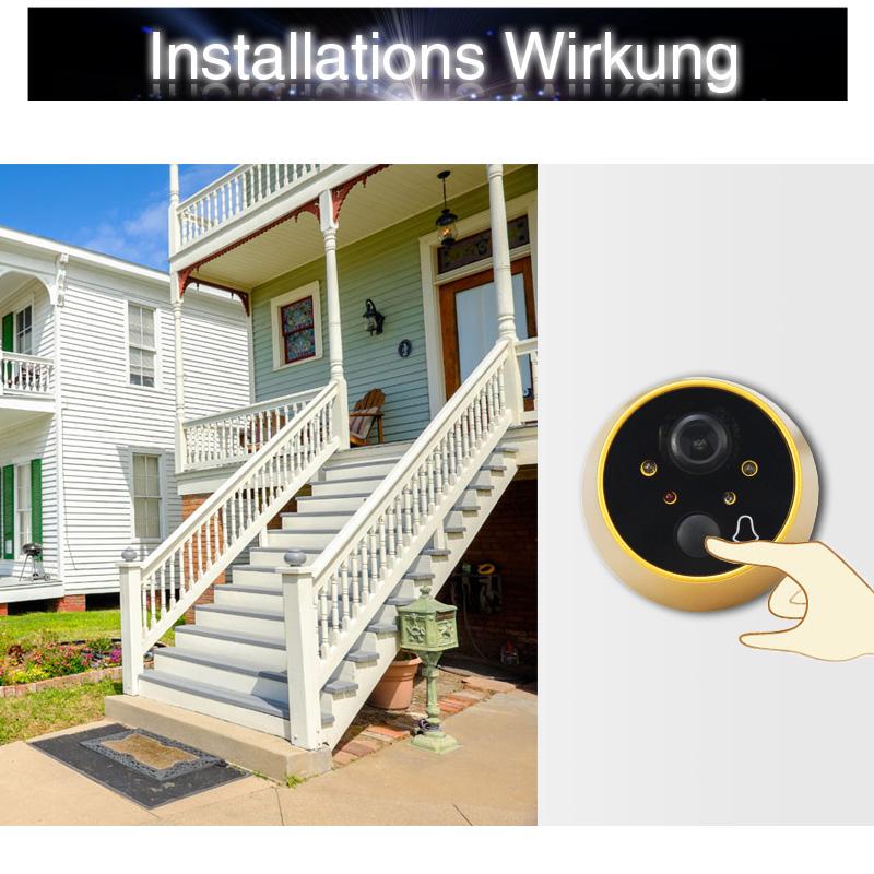 lcd digitaler t rspion 4 3 t rkamera berwachung f r mehr sicherheit zu hause ebay. Black Bedroom Furniture Sets. Home Design Ideas