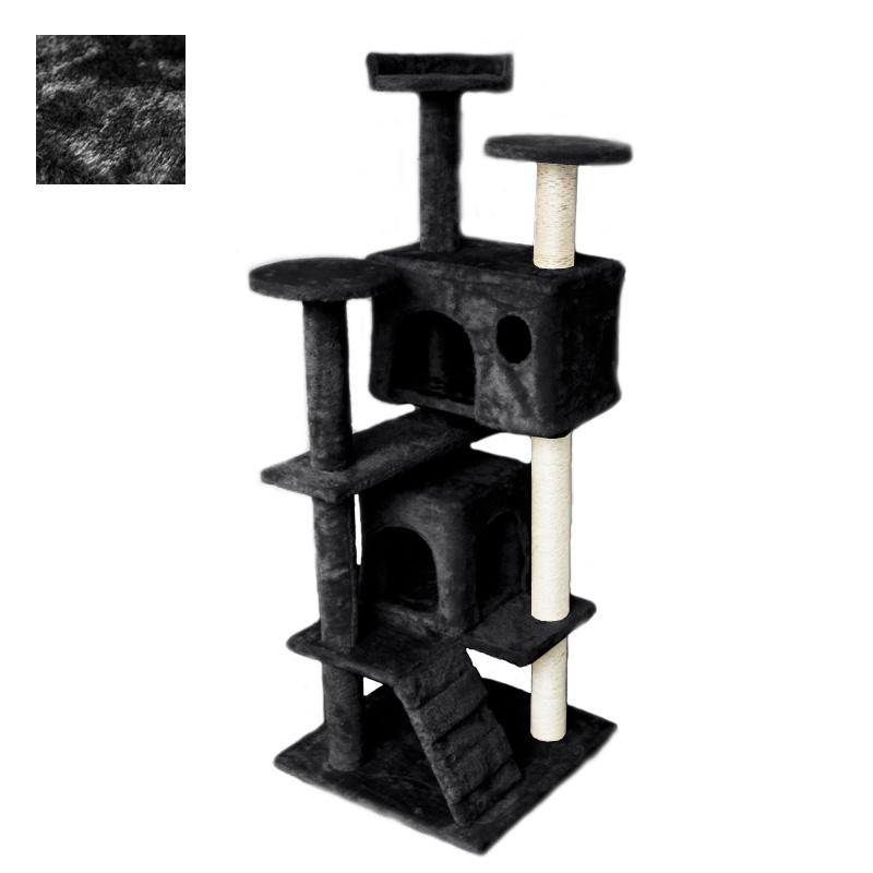 kletterbaum f r katzen katzenbaum kratzbaum katzenkratzbaum luxus farbwahl ebay. Black Bedroom Furniture Sets. Home Design Ideas