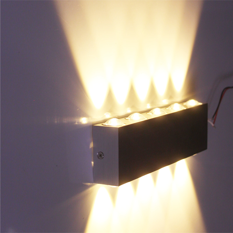 Led Wall Lights Indoor Uk: 2X Indoor Led Wall Light Stair Lamp Sconce Lighting Up