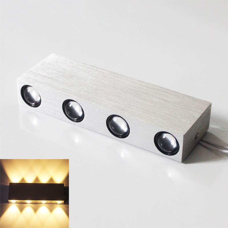 8w led wandleuchte effektleuchte flurlampe wandlampe flurleuchte warmwei dhl de. Black Bedroom Furniture Sets. Home Design Ideas
