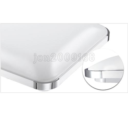 48w led deckenleuchte deckenlampe mit fernbedienung dimmbar wohnzimmer k che neu ebay. Black Bedroom Furniture Sets. Home Design Ideas