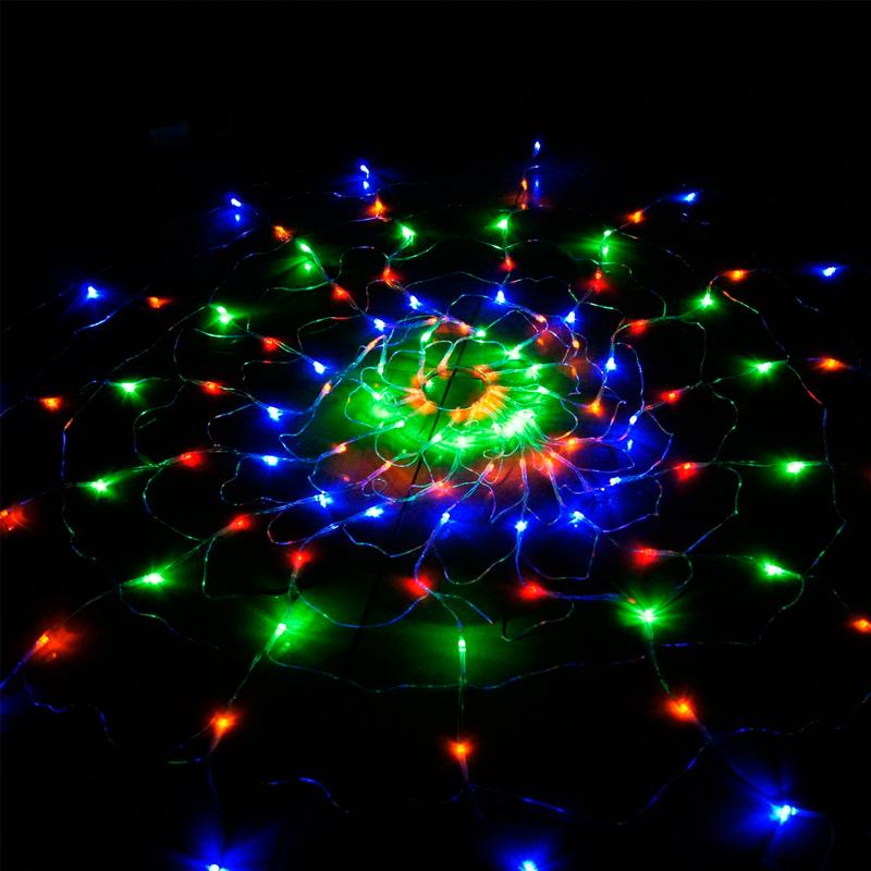 led stars snowflake window curtain string fairy lights outdoor xmas 8. Black Bedroom Furniture Sets. Home Design Ideas
